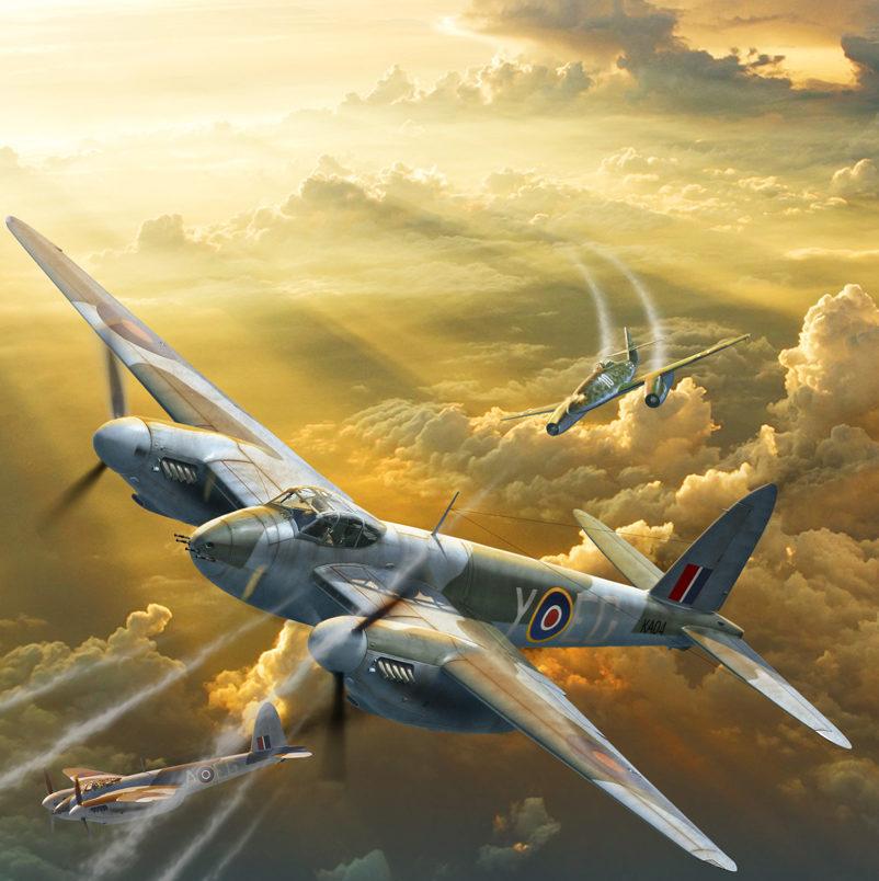 Петелин Валерий. Истребитель Havilland Mosquito.