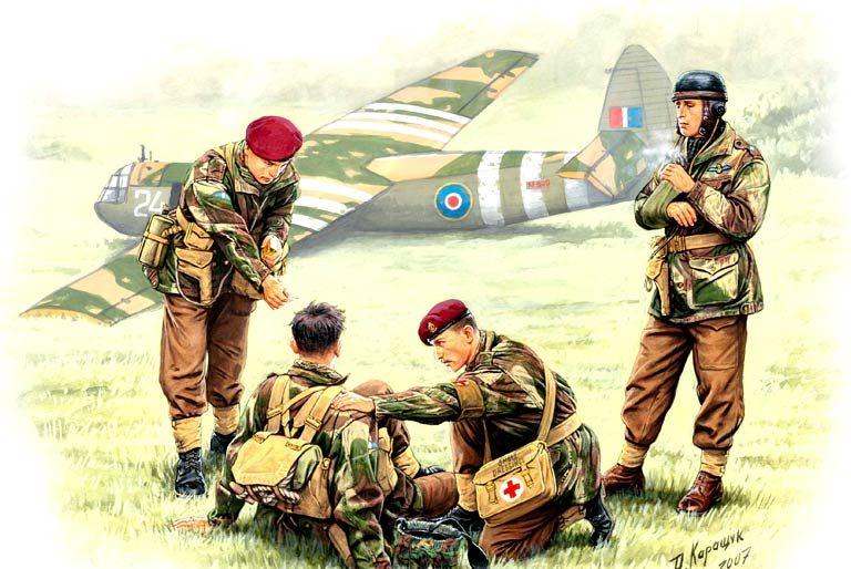 Каращук Андрей. Британские парашютисты.