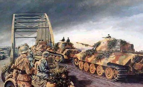 Pentland David. Тигры на мосту через Арнем.