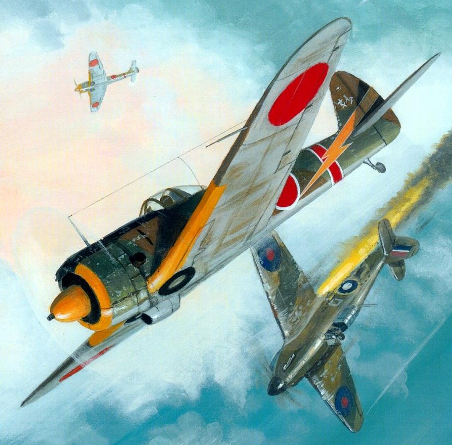 Postlethwaite Mark. Истребитель Nakajima Ki-43.