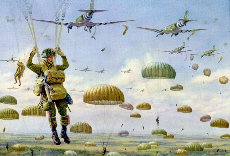 Noon Steve. Операция «Market Garden». 1944 год.