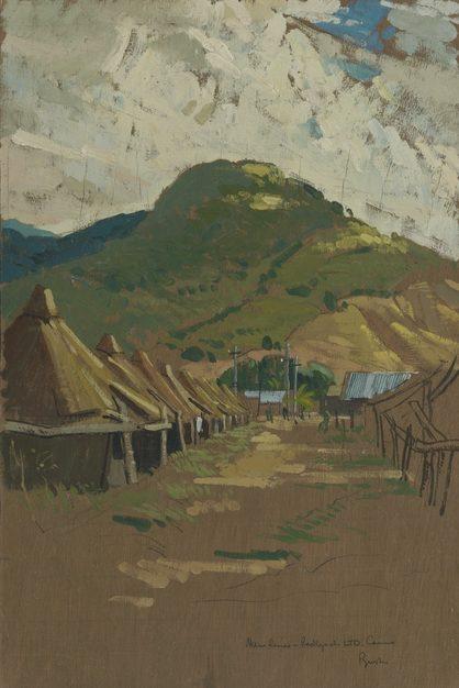 Bush Charles. Транзитный лагерь у Cairns.
