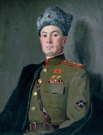 Китайка Константин. Генерал-лейтенант Петров В.С.