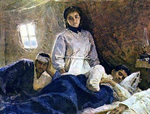 Уранова Софья. Военная медсестра Наташа Михалева.