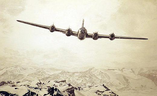 Hall Martin. Бомбардировщик В-29.