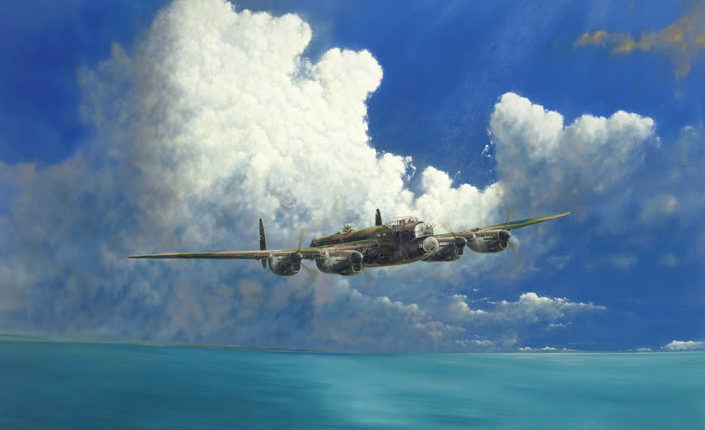 Littlejohn Mark. Бомбардировщик «Lancaster».