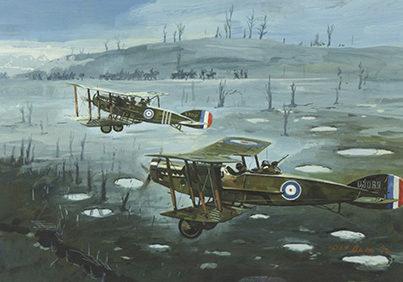Owen Pat. Истребители «Bristol Fighter».