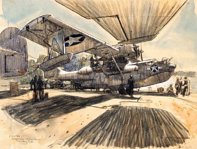 Goodchild John. Летающая лодка «Catalina».
