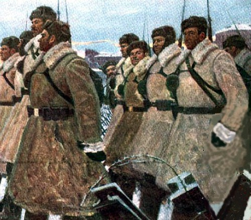 Лысенко Андрей. Сибиряки 1941 год.