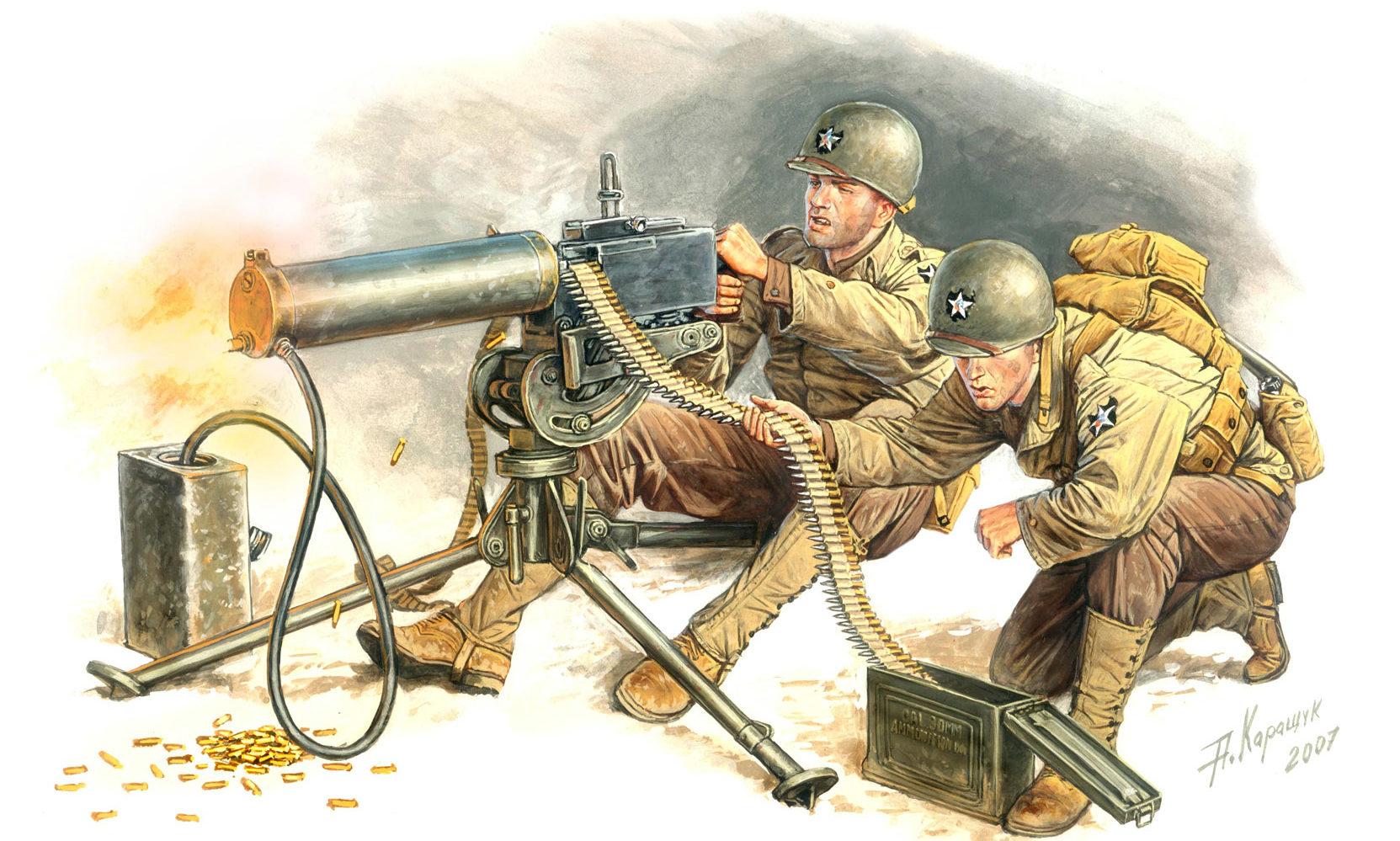 Каращук Андрей. Пулеметный расчет.