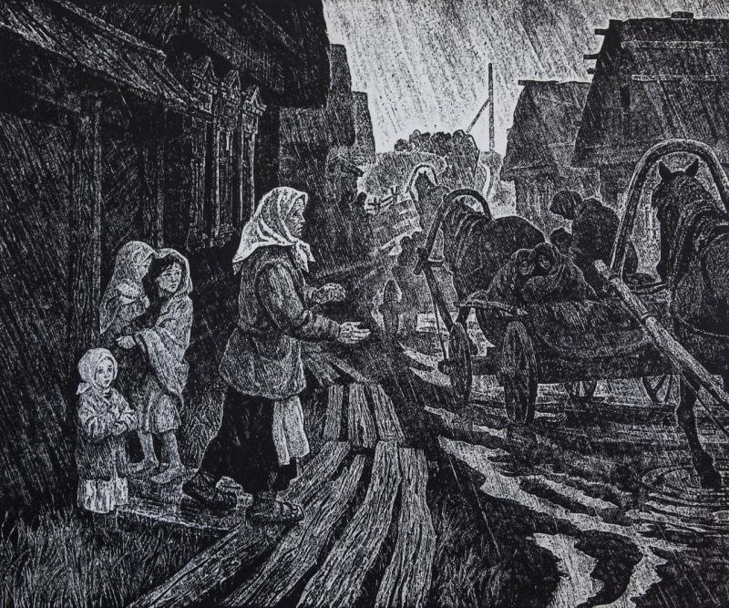 Воробьева Ирина. Беженцы.
