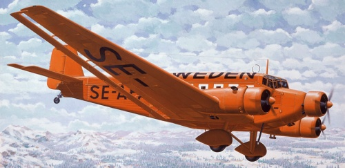 Bechennec Daniel. Транспортный самолет Ju52/3m.