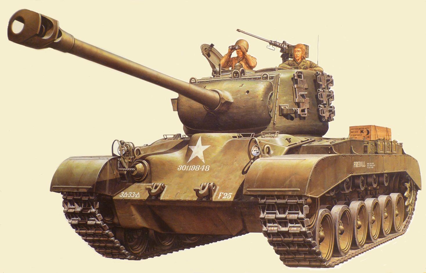 Петелин Валерий. Танк М-26 Pershing.