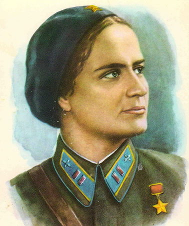 Кручина Александр. Герой Советского Союза М. Раскова.