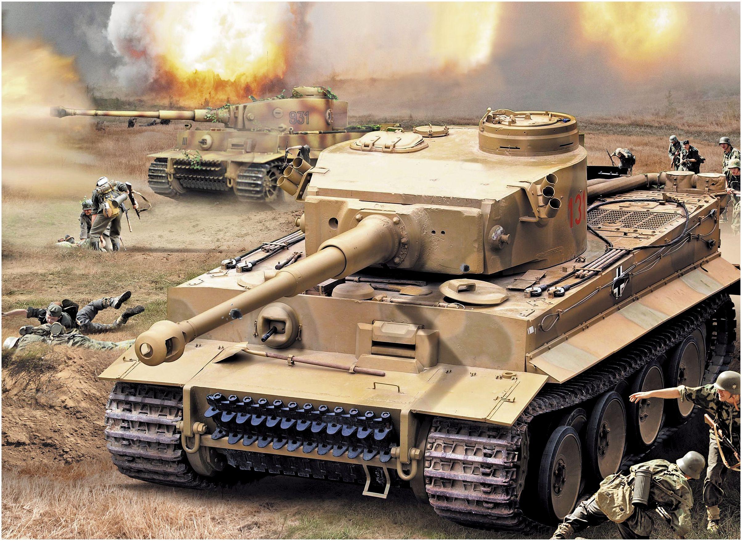 Платонов Виктор. Танк Tiger I Ausf. E.