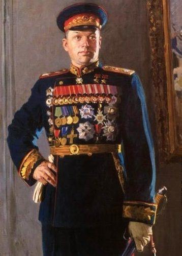 Китайка Константин. Маршал Рокоссовский.