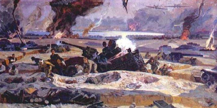 Стригин Василий. Подвиг зенитного полка под Сталинградом в 1942 году.