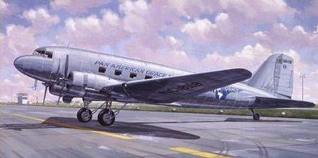 Bechennec Daniel. Транспортный самолет DC-3.