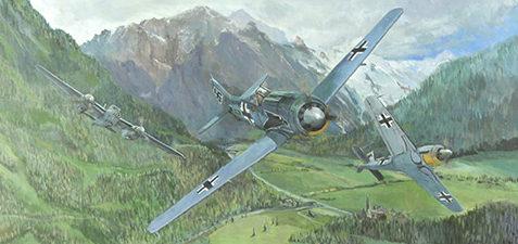 Jackson Phil. Истребители Fw-190s.