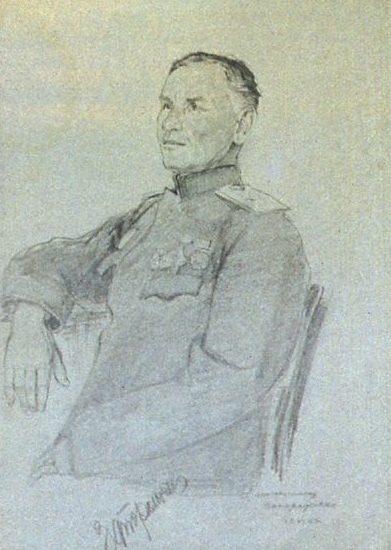 Зимин Валентин. Генерал-майор Запорожченко.