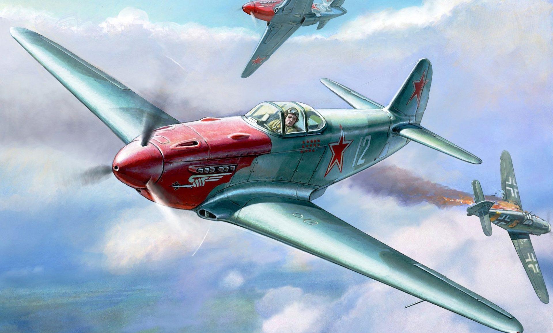 Жирнов Андрей. Истребитель Як-3.