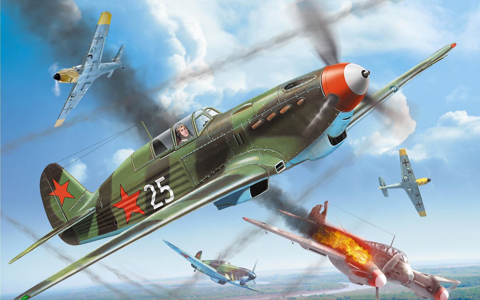 Петелин Валерий. Истребитель Як-7.