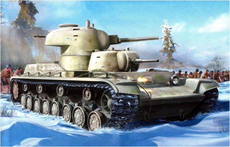 Платонов Виктор. Танк Т-35.