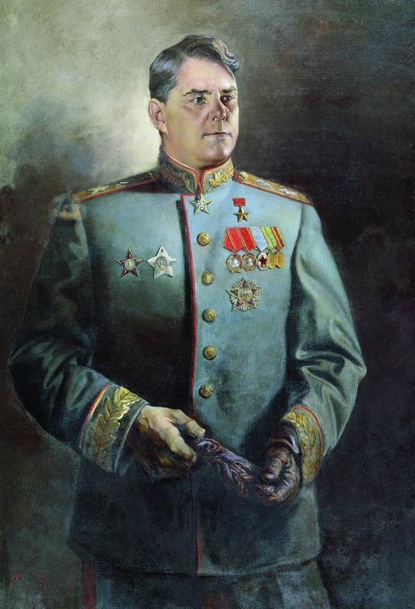 Яковлев Василий. Портрет Василевского А.М.