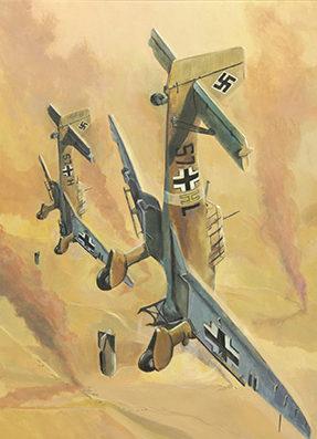 Jackson Phil. Бомбардировщики «Stuka».