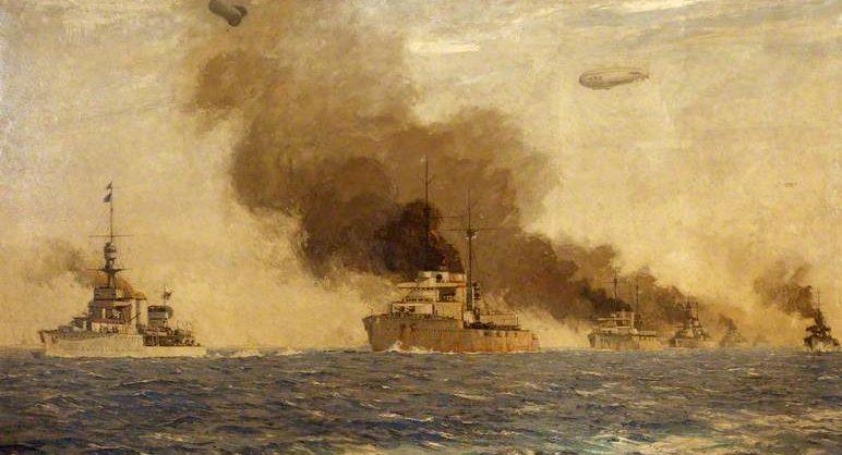 Wilkinson Norman. Легкий крейсер « Cardiff'».