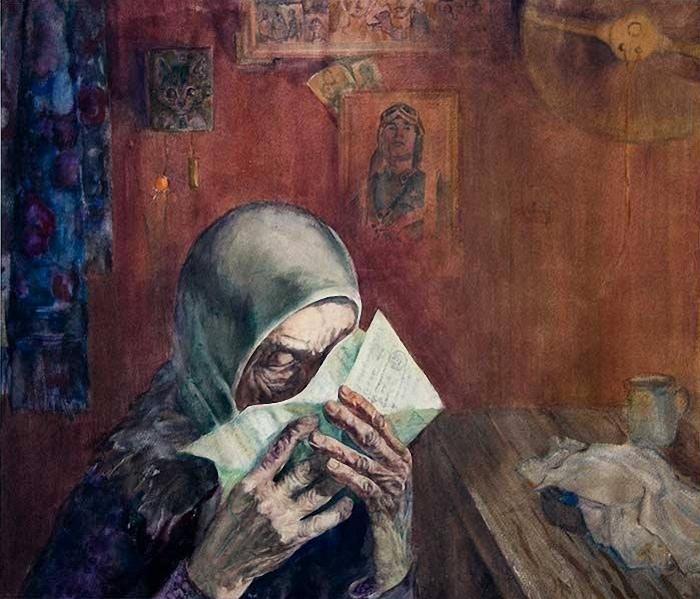 Суздальцев Виктор. Письмо.
