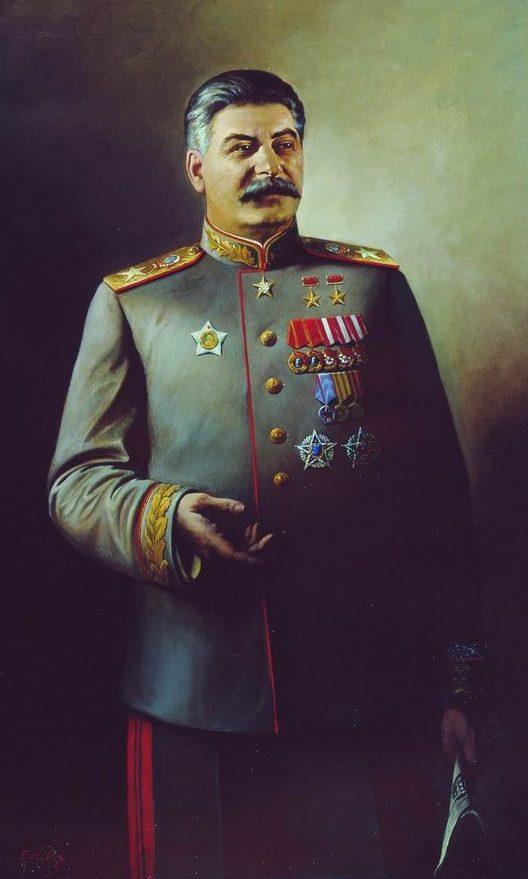 Яковлев Василий. Генералиссимус Советского Союза И.В. Сталин.