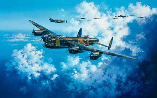 Atack Simon. Бомбардировщики Avro Lancaster.