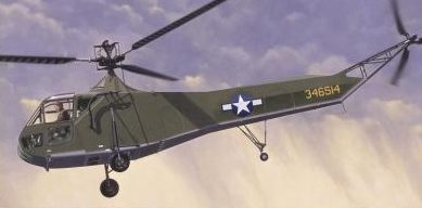 Bechennec Daniel. Вертолет Sikorsky R-4.