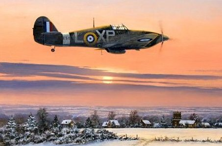 Brown Stephen. Истребитель Hawker Hurricane.