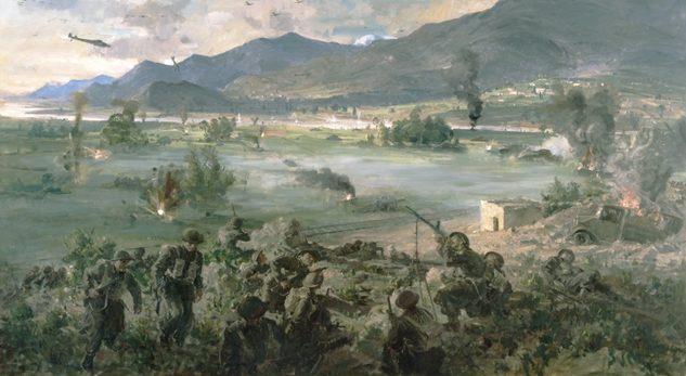 Dargie William. Бои в долине Tempe. Греция.