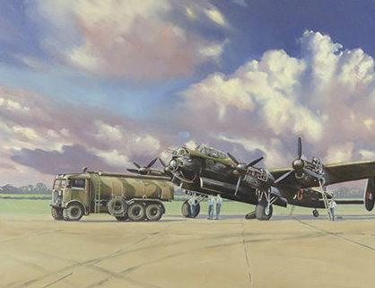 Jenkins Tim. Заправка бомбардировщика «Avro Lancaster».