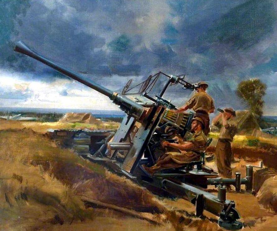 Wootton Frank. Зенитное орудие 40-mm Bofors L60 Mk.III.