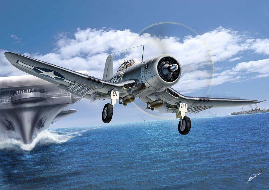 Кочнев Роман. Палубный истребитель F-4U Corsair.