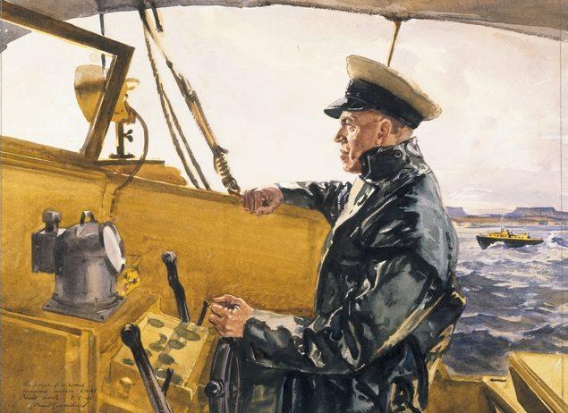 Goodchild John. Капитан спасательного катера RAAF.