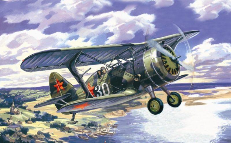 Руденко Валерий. Истребитель И-15 бис.