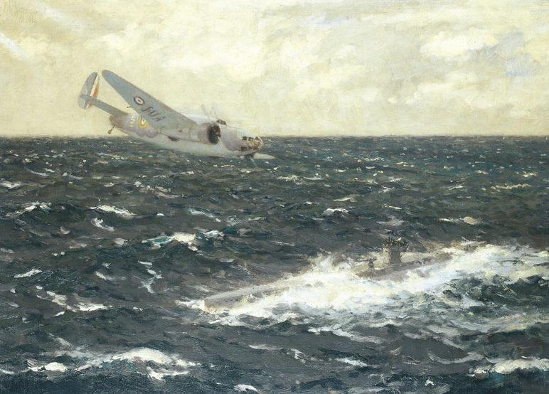 Wilkinson Norman. Атака на подводную лодку.