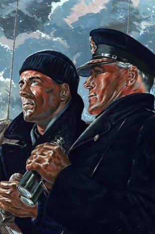 Wood Charles. Жизнь продолжается благодаря торговому флоту.
