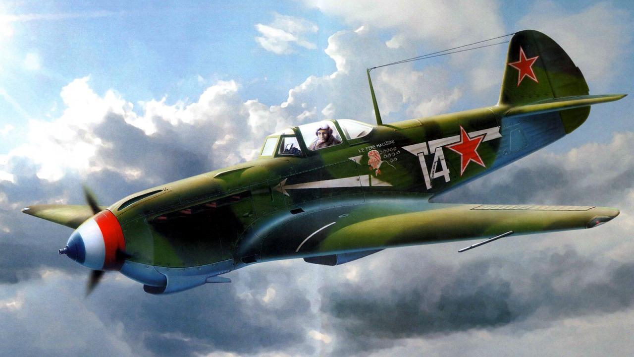 Жирнов Андрей. Истребитель Як-9.