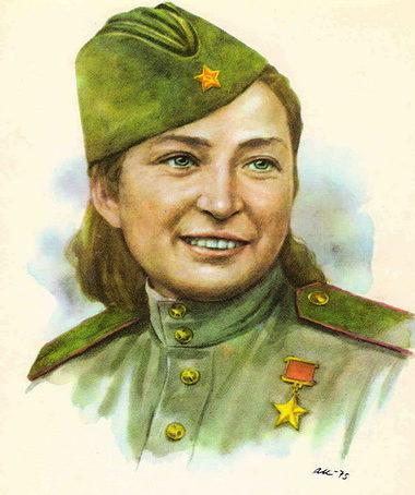 Кручина Александр. Герой Советского Союза М. Щербаченко.
