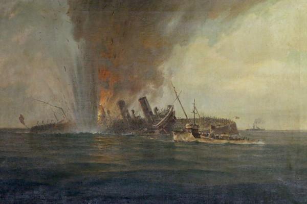 Горшков Г. Торпедирование германского лайнера.