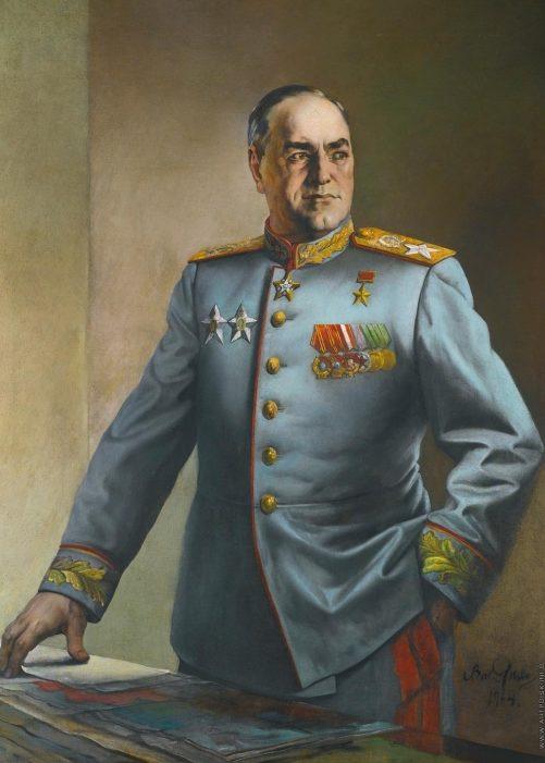 Яковлев Василий. Маршал Жуков.