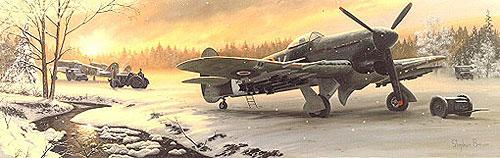 Brown Stephen. Истребитель Hawker Typhoons.