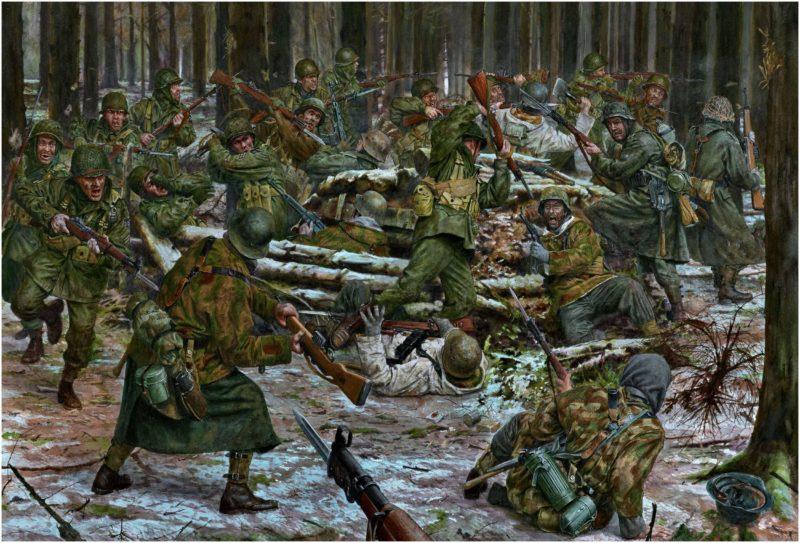 Noon Steve. Контратака в Krinkelterwald.