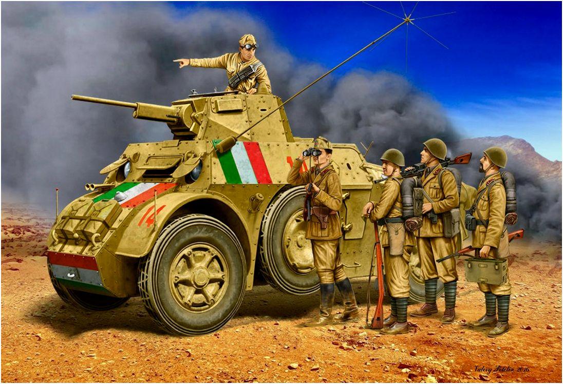 Петелин Валерий. Итальянский бронеавтомобиль «Autoblinda 41».